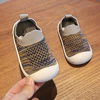 GUFANSI B/éb/é Chaussures Premier Pas pour Enfants Gar/çons Filles de 1-4 Ans pour int/érieur