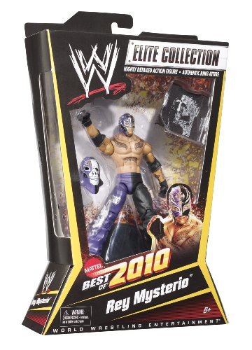 (WWE Elite Collection Rey Mysterio Figure Best of 2010 Series)