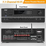 7.1-Channel Hi-Fi Bluetooth Stereo Amplifier - 2000