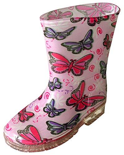 Childrens-Rain-Boots-Fun-Cute-Patterns-Bright-Colorful