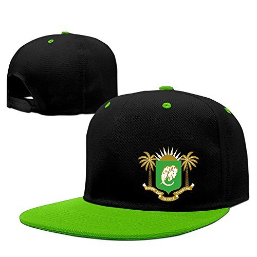 Coat Of Arms Of Ivory Coast= Cotton Adult Hip-hop Hat Trucker Cap -