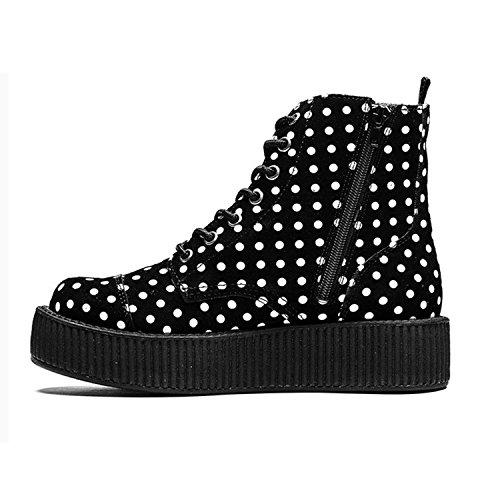TUK Shoes , Bottes Rangers femme