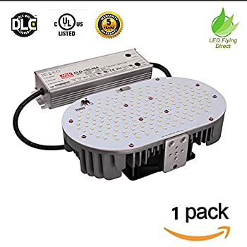 Image of LED Flying Direct 120w LED Retrofit Kit Light with E39 Mogul Base, Replace 250-400w Shoebox Light, Street Light, Flood Light Parking Lot Lighting, 16,200lm UL DLC Approved (120W-1 Pack) Commercial Lighting