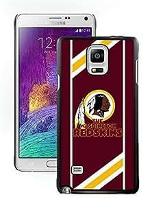 Washington Redskins 08 Black Samsung Galaxy Note 4 Hard Plastic Phone Cover Case