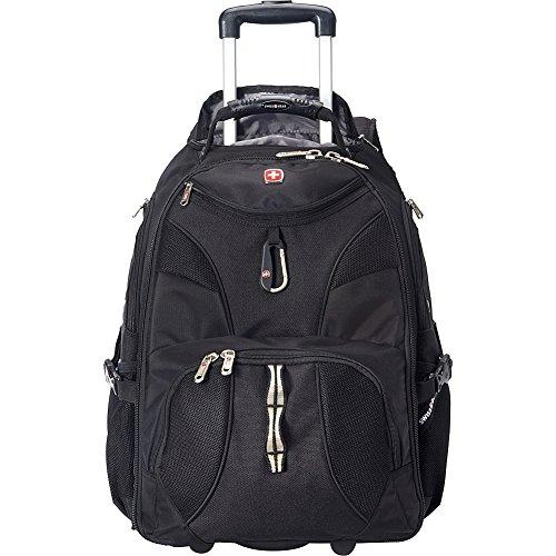SwissGear Travel Gear 1900 Rolling Laptop Backpack (All Black)