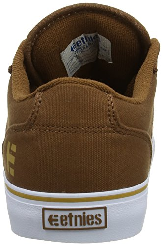 Marron Tan Brown Homme Etnies LS White 215 Barge Skateboard YqPgI