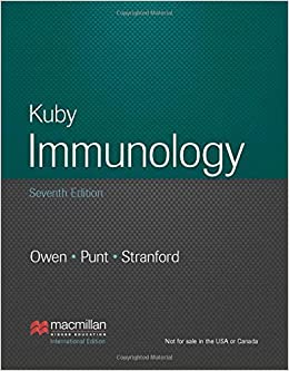 Kuby immunology 7th edition international edition by judy owen kuby immunology 7th edition international edition by judy owen 2013 03 28 judy owenjenni puntsharon stranford amazon books fandeluxe Image collections
