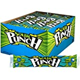 Sour Punch Blue Raspberry Chewy Straws 2 Oz Trays (Pack of 24)
