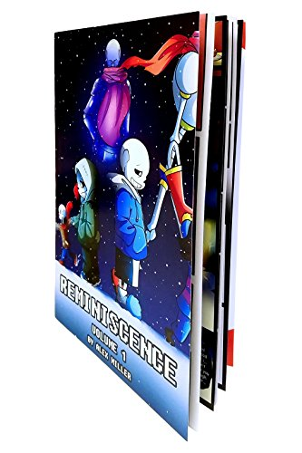 Undertale Fan Comic Book: Reminiscence Volumes 1 and 2