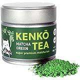 KENKO - Premium Matcha Green Tea Powder - 1st Harvest - Special Drinking Blend for Top Flavor - Best Tasting Ceremonial Grade Matcha Tea Powder - Japanese -30g [1oz]