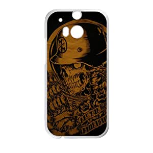 Rockband guitar legend skull Cell Phone Case for HTC One M8