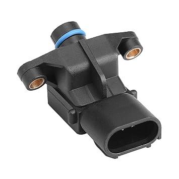 KIMISS Sensor de presión Absoluta de colector de presión de automóvil para 4686684AB: Amazon.es: Electrónica