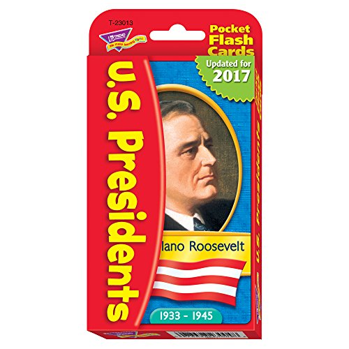 Kennedy Card - US Presidents Pocket Flash Cards