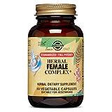 Solgar Sfp Herbal Female Complex Vegetable Capsules, 50 Count