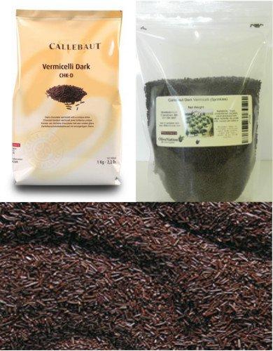Callebaut Vermicelli Dark 16 oz by OliveNation