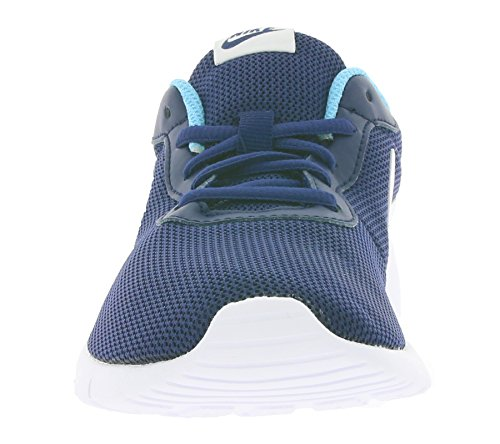 Nike Youth Tanjun Mesh Trainers Black Blue