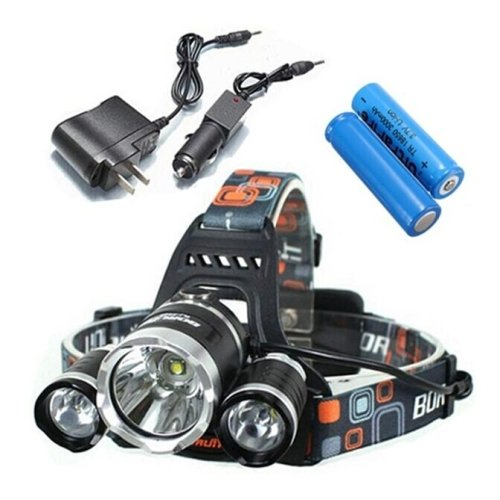 Lights Headlamps / Bike Lights LED 5000 Lumens 4 Mode Cree XM-L T6 18650 Waterproof / Rechargeable / Impact (Sahara Mini Set)