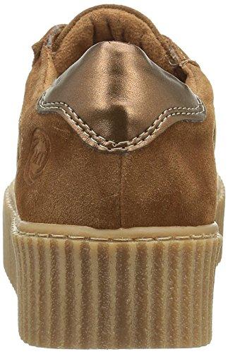 Marco Tozzi Premio 23731, Zapatillas para Mujer Marrón (COGNAC COMB 392)