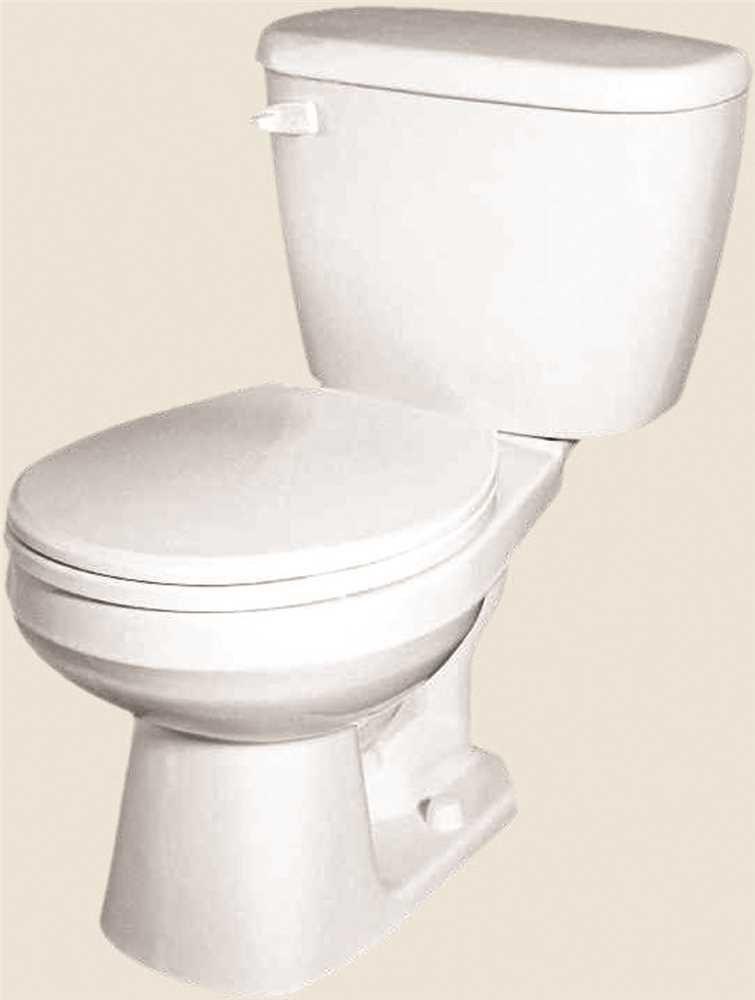 GERBER PLUMBING G002195225 2473730 Maxwell Siphon Jet Toilet Bowl ...