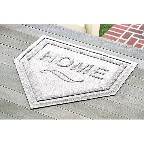 AquaShield Home Plate Mat, 2 By 2 Feet, White