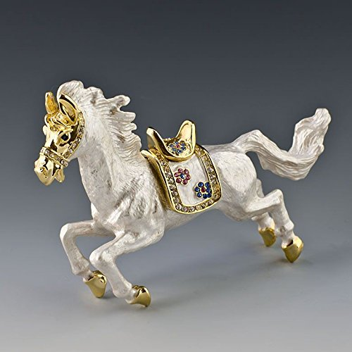Horse Jeweled Box - 7