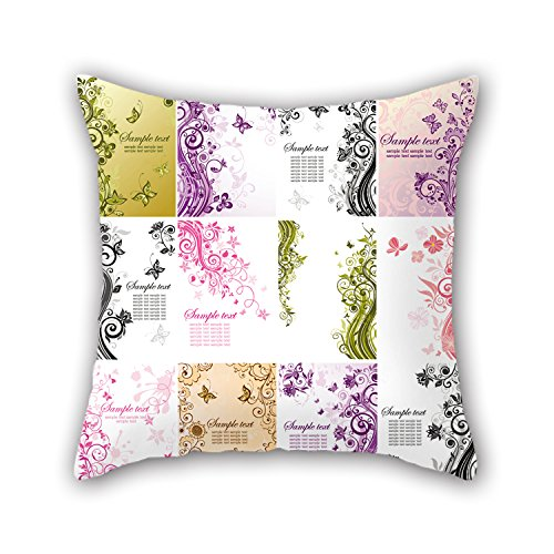 Medium Eyelet Assortment (NICEPLW The Flower Pillowcover Of ,20 X 20 Inches / 50 By 50 Cm Decoration,gift For Him,boys,valentine,home,valentine,home Office (twice)