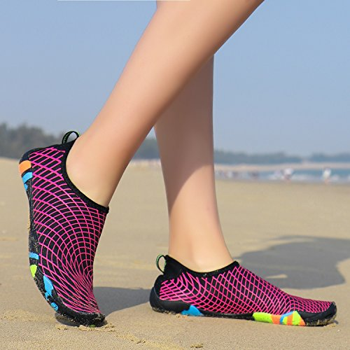 For Barefoot Aqua Shoes Shoes Beach Unisex Water Shoes Diving Dry Water Yoga Boating Surfing Shoes C SHINIK Sports Quick Slipper Swimming B7YwxYq