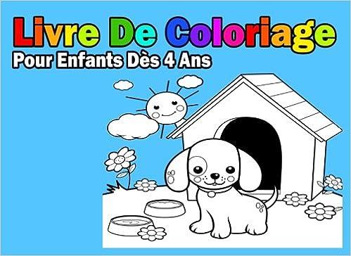 Livre De Coloriage Pour Enfants Des 4 Ans Pour Garcon