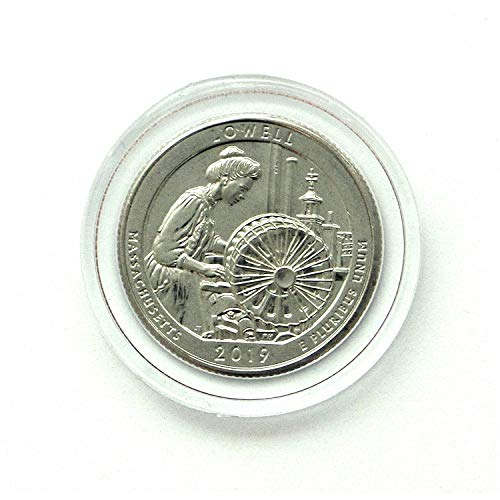 2019 W Lowell National Historical Park, MA - Great American Coin Hunt - #WQUARTER Quarter Uncirculated US -