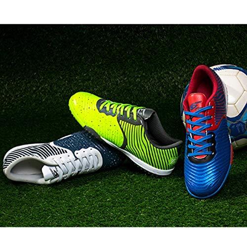 Stéréoscopique Antidérapant Foot 37 Taille L'ue De Impression 3d Vert Football Chaussures AIFqSn