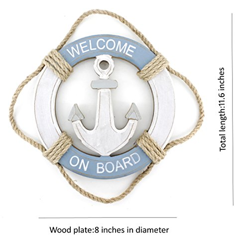 Wooden-Nautical-Life-Ring-Wall-and-Door-Hanging-Ornament-PlaqueWelcome-On-Board116x8-Welcome-Sign