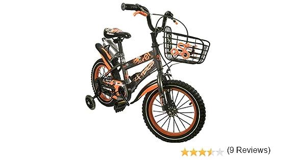 Zerimar Bicicletas Infantiles para niños y niñas | Bici con ruedines y Cesta | Bici niño | Bicicleta niños 14,16,18 Pulgadas | Bicicletas niños 3-8 años: Amazon.es ...