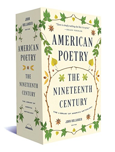 - American Poetry: The Nineteenth Century: A Library of America Boxed Set (The Library of America)