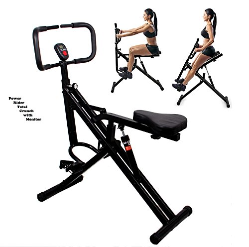 Used, Power Rider Total Crunch Bike 2-1 AB Crunch Bike Workout for sale  Delivered anywhere in Canada