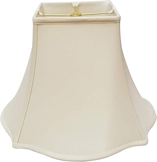 Royal Designs Fancy Square Bell Lamp Shade