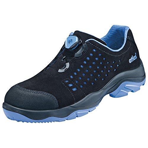 Atlas ESD Chaussures basses de sécurité SL 9405XP Boa, Noir, Largeur 12, Taille 47