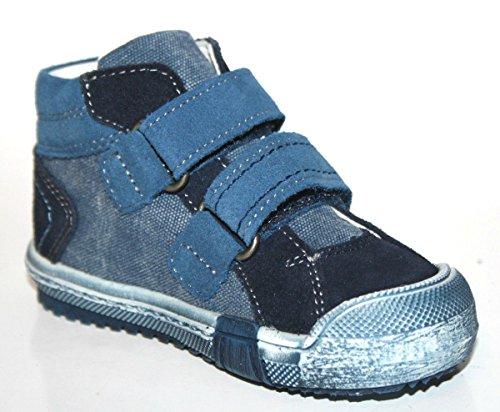 Richter Kinderschuhe - Primeros Pasos de cuero Niño azul - Bleu - Blau (atlantic/pacific 7201)