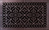 "Decorative Grille, Vent, or Return Air Register. Made of Urethane Resin to fit over a 14''x24'' duct or opening. Total size of vent is 16""x26''x3/8'', for wall and ceiling grilles (not for floor use)."