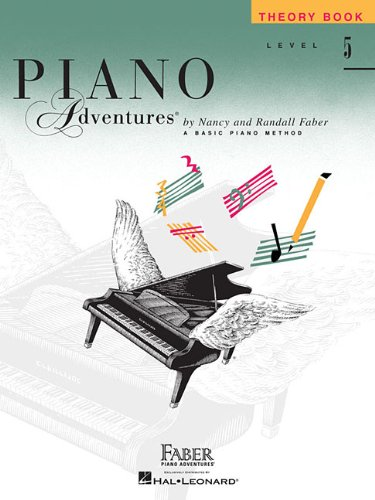 Piano Adventures Theory Book, Level 5 (Faber Piano Adventures)