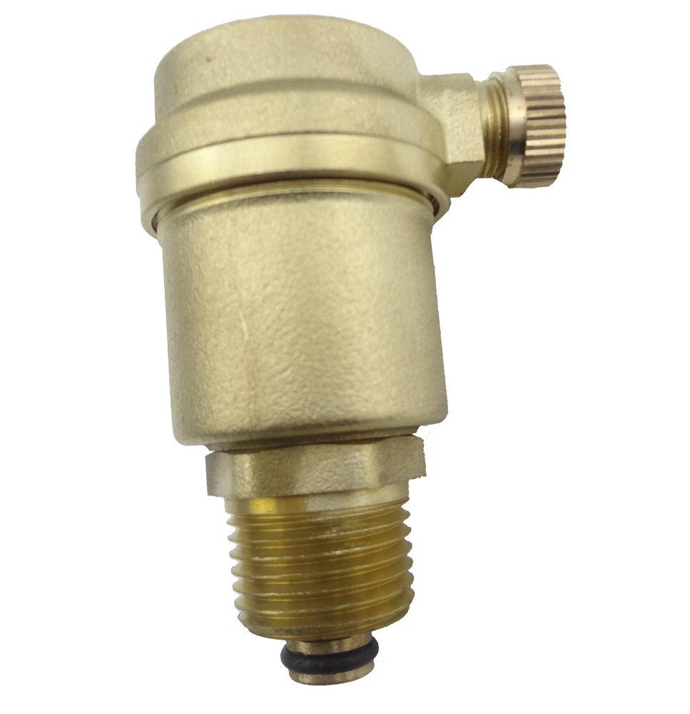 MISOL 1 pcs of G1/2' Air Vent valve for Solar Water Heater, Pressure Relief valve/Valvola Air Vent/Riscaldatore di acqua solare/Valvola di decompressione