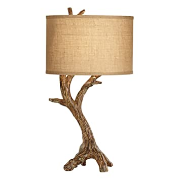Amazon Com Pacific Coast Lighting Beachwood Table Lamp In Natural