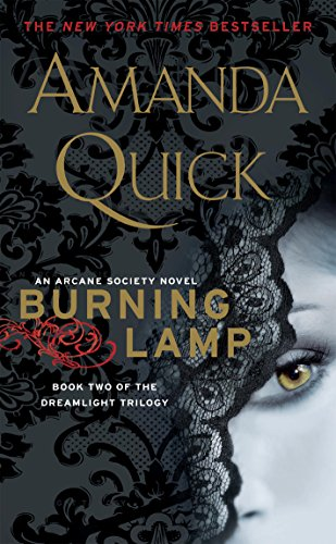 Burning Lamp: Book Two in the Dreamlight Trilogy (Arcane Society Series 8) cover
