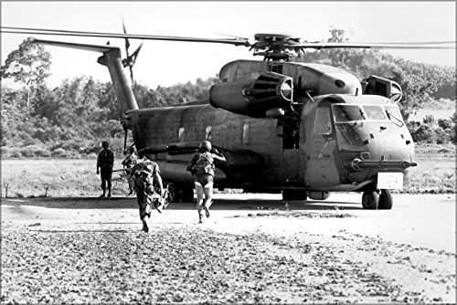 24x36 Poster; Pararescuemen Board Ch-53 During Koh Tang-Raid 1975