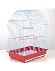 Pet's Solution Gabbia Uccelli canarini, cocorite 41x28x57h cm