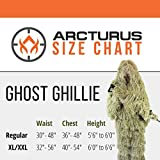 Arcturus Ghost Ghillie Suit: Dry Grass Camo