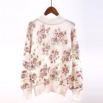 SZYL-Sweater Tejer camisas de fondo de las mujeres de las mujeres japonesas otoño/