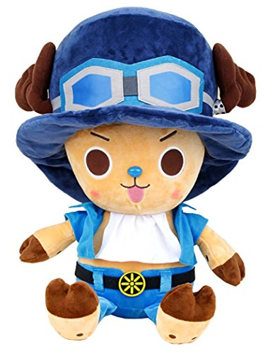 One Piece Tony Chopper Costume Sabo Authentic Stuffed Plush Doll 10