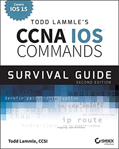 todd lammle s ccna ccent ios commands survival guide exams 100 101 rh amazon com Cisco ICND1 Certification Logo PDF ICND1 Study Guide