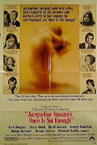 (Once Is Not Enough Deborah Raffin David Janssen Original Movie Poster)