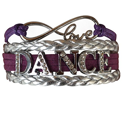 Infinity Collection Dance Bracelet- Dance Jewelry - Rhinestone Dance Bracelet for Dance Recitals